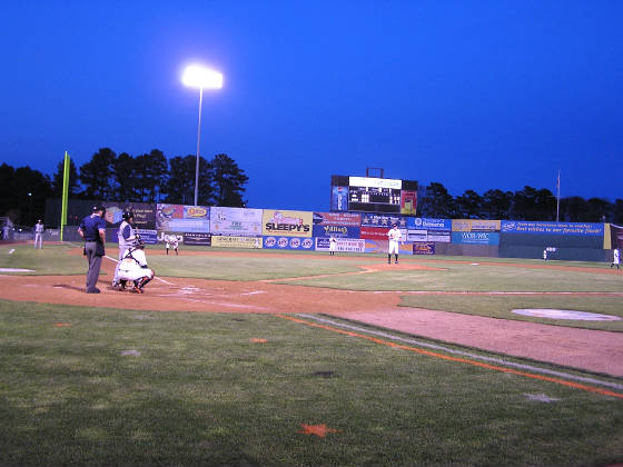 Behind Home Plate, Delmarva Shorebirds